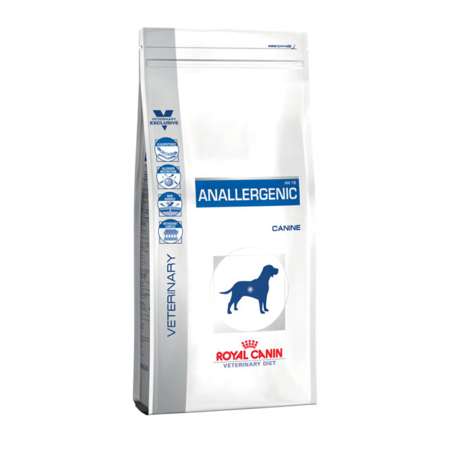 Royal Canin Vet Diet Canine Anallergenic 3kg 1