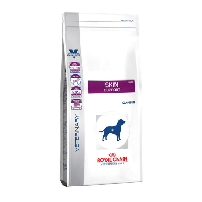 Royal Canin Vet Diet Canine Skin Support 2kg 1