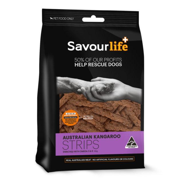 Savour Life Treats Kangaroo Strips 165g 1