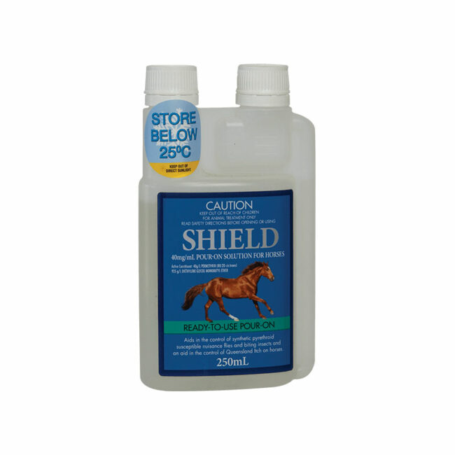 Shield Pour-On Solution for Horses 250mL 1