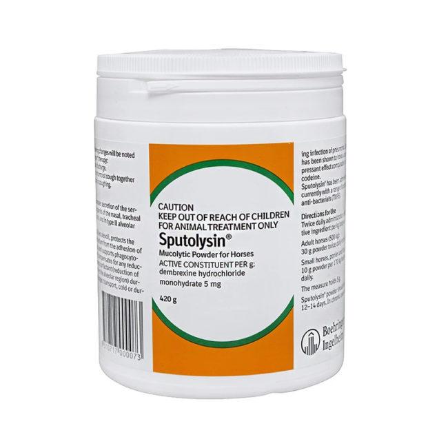Sputolysin Mucolytic Powder for Horses 420g