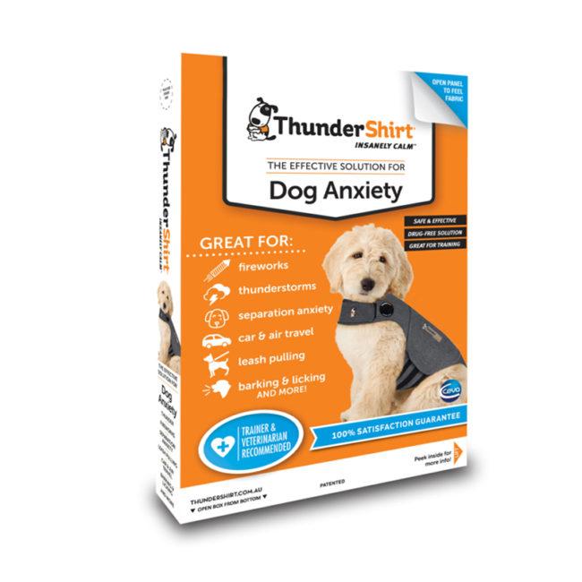 ThunderShirt Dog Anxiety Vest Heather Grey Medium
