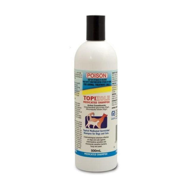 Topizole Medicated Shampoo 500ml