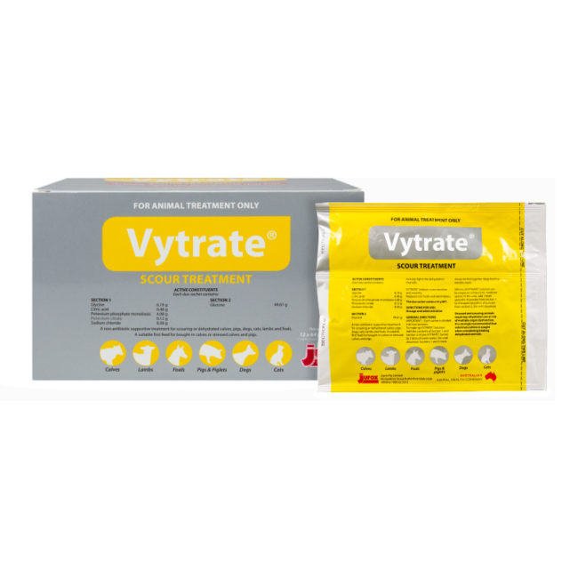 Vytrate Scour Treatment - 12 Sachets