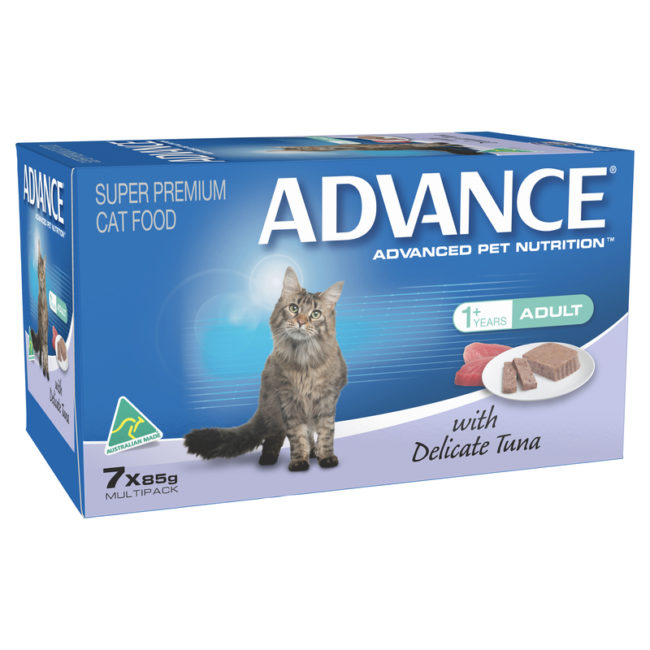 Advance Adult Cat with Delicate Tuna 85g x 7 cans 1