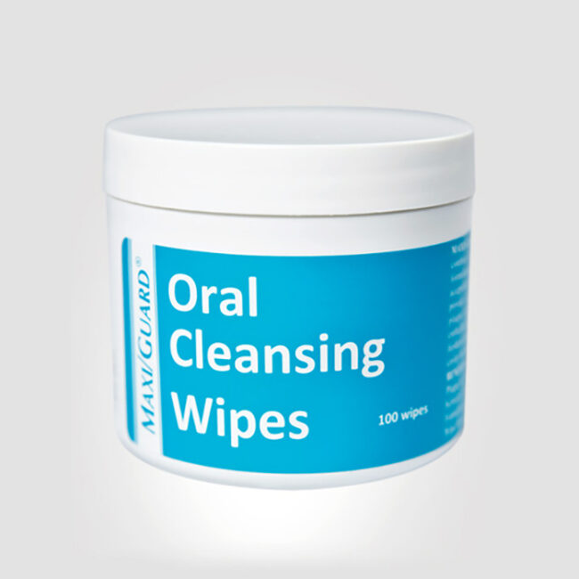 MAXI/GUARD Oral Cleansing Wipes - 100 Pack 1