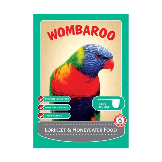 Wombaroo Lorikeet & Honeyeater Food 9kg