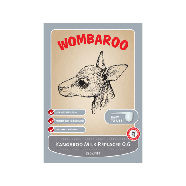 Wombaroo Kangaroo Milk Replacer 0.6 220g 1